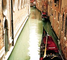 Canal in Venice, Italy by groophics