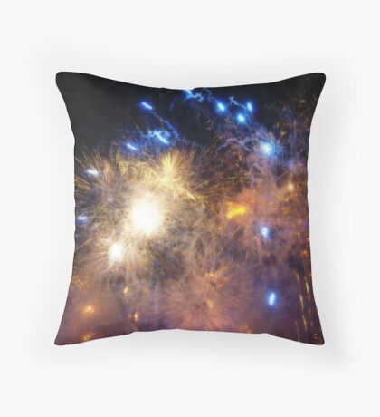 New Years Eve Fireworks ! Throw Pillow