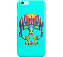 pixel skull iPhone Case/Skin
