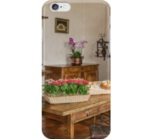 The Kitchen at the Chateau de Villandry, Brittany, France iPhone Case/Skin