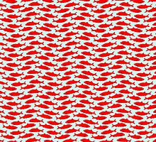 Red herring wallpaper by funkyworm