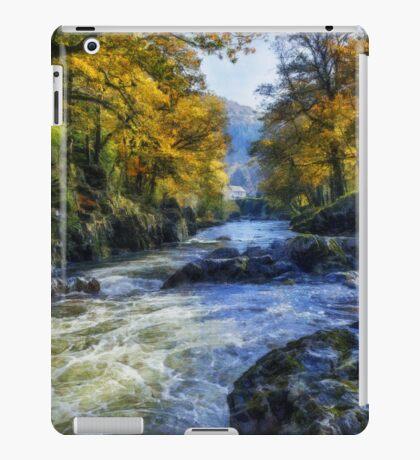Autumn River Valley iPad Case/Skin
