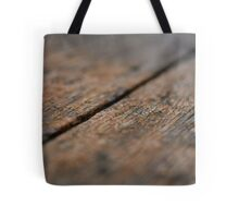 Wooden Boards Tote Bag