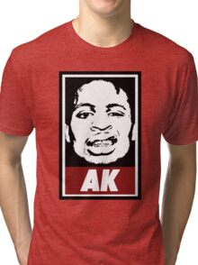 AK (the underachievers) Tri-blend T-Shirt
