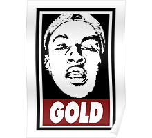 Issa Gold (the underachievers) Poster