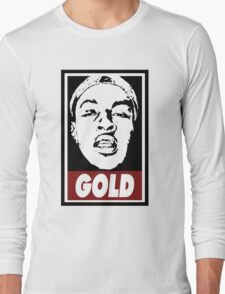 Issa Gold (the underachievers) Long Sleeve T-Shirt
