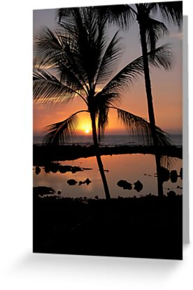 Kona Sunset by Stanton Hooley