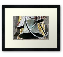 Heavy Toll Framed Print