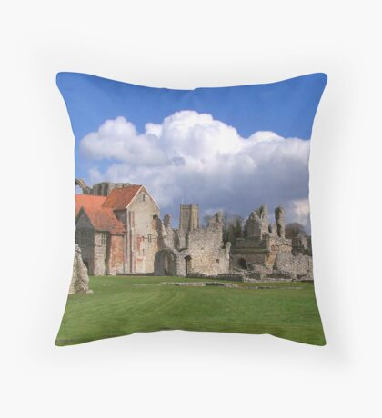 Old Monastry Throw Pillow