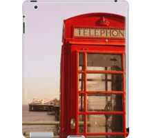 Phone Booth in Brighton iPad Case/Skin