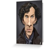 Celebrity Sunday - Benedict Cumberbatch Greeting Card