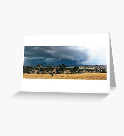 Tharwa Storm Greeting Card