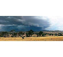 Tharwa Storm Photographic Print