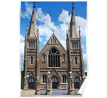 St Joseph's Cathedral in Rockhampton Poster