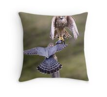 Merlin food pass Throw Pillow