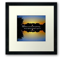 Wisdom - Albert Einstein Framed Print