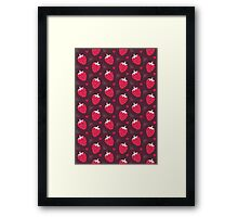 Strawberries and Chocolate Framed Print