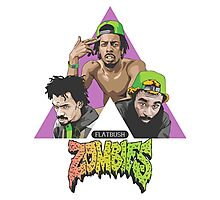 Flatbush Zombies Tri Photographic Print