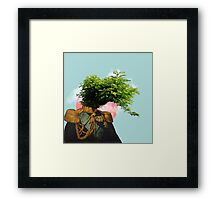 TREE MAN. Framed Print