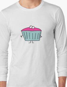 Cup Cake Long Sleeve T-Shirt
