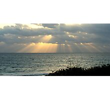 morning rays for you Photographic Print