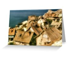 Shanty Town Greeting Card