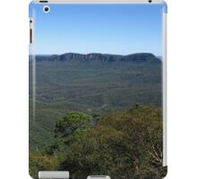 View to Mount Solitary - Blue Mountains National Park iPad Case/Skin