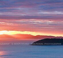 Sunset Sail, Whitsundays, Australia by Adam Brand