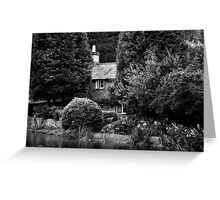 Black & White Collection - Cottage Greeting Card