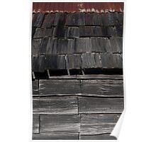 Tin Mine Huts - Wall detail Poster