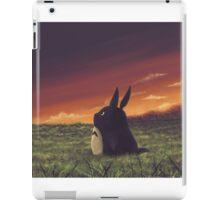 My beautiful Totoro ! iPad Case/Skin