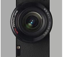 Vintage Camera Lens by EllieDahlena