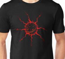 Chaos Star Daemon in red for dark tees Unisex T-Shirt