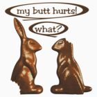 Chocolate Easter Bunnies by bmgdesigns