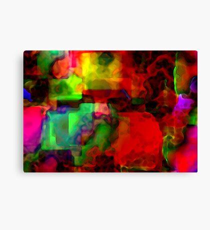 Memory blocks  Canvas Print