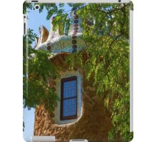Fairy Tale Building Through the Trees - Impressions Of Barcelona iPad Case/Skin