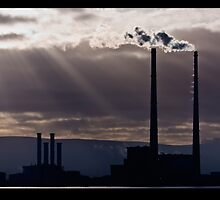 Poolbeg, Dublin  by DeirdreMarie