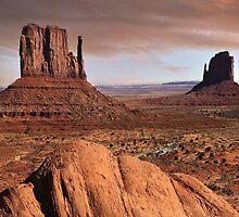 a desert landscape by dennis wingard