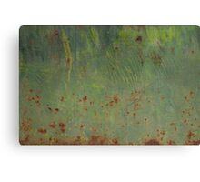 Rusty Bubbles Canvas Print