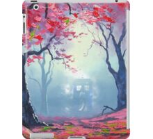 Tardis Cloud Art Painting iPad Case/Skin