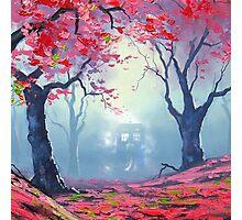 Tardis Cloud Art Painting Photographic Print