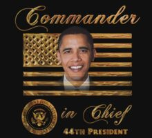 Commander in Chief, President Barack Obama by Beverly Lussier