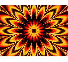 Sun Fire Photographic Print
