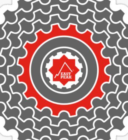 Mountain Bike T-Shirt - Blood Sweat & Gears - East Peak Apparel Sticker