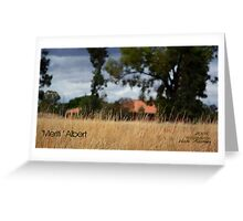 The House That Grandad Built © Vicki Ferrari Photography Greeting Card