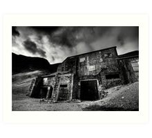 Force Crag Mine Art Print