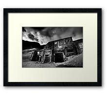 Force Crag Mine Framed Print