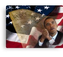 Patriotic America Canvas Print