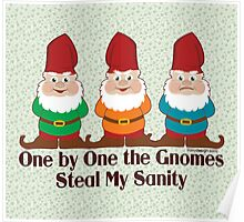 One By One The Gnomes Poster