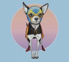 Luchador Chihuahua Dog Baby Tee